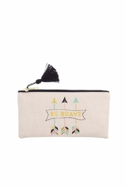 Slant Collections Be Brave Cosmetic Bag - Product Mini Image