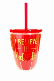 Slant Collections Believe Cocktail Cup - Product Mini Image