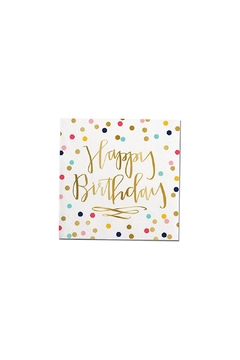 Slant Collections Birthday Napkins - Alternate List Image