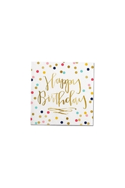 Slant Collections Birthday Napkins - Front cropped