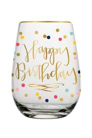 Slant Collections Birthday Wine Glass - Product Mini Image