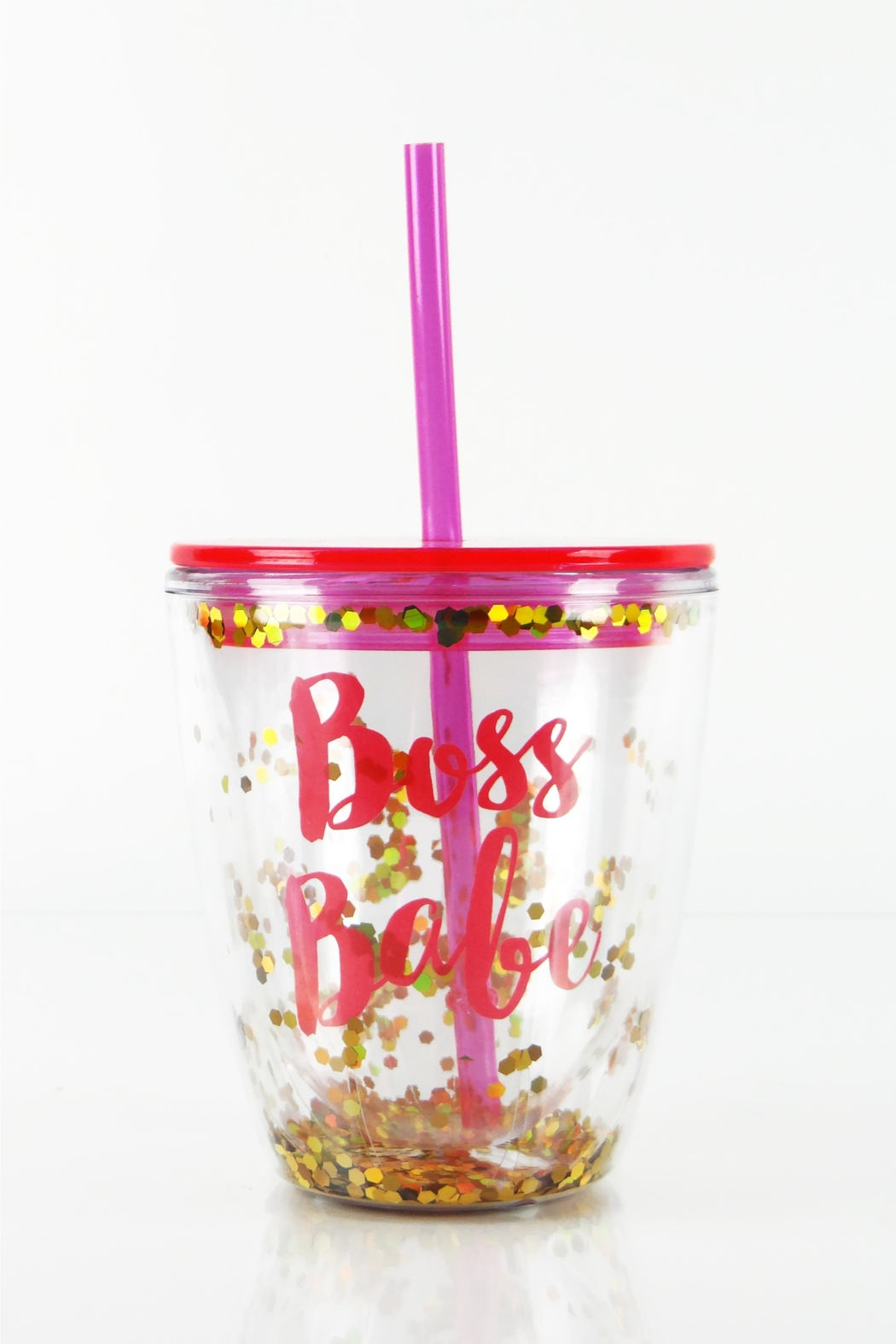 Slant Collections Boss Babe Cup - Front Cropped Image