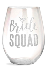 Slant Collections Bride Squad Glass - Front cropped