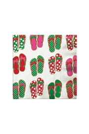Slant Collections Christmas Cocktail Napkins - Front cropped