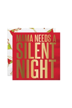 Slant Collections Christmas Cocktail Napkins - Alternate List Image