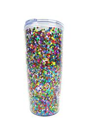 Slant Collections Confetti Travel Tumbler - Product Mini Image