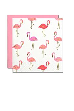 Slant Collections Flamingo Cocktail Napkins - Product List Image
