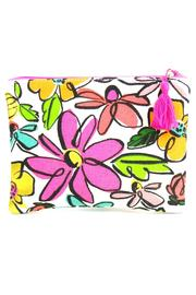 Slant Collections Floral Cosmetic Bag - Product Mini Image