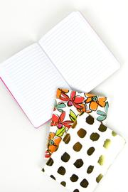 Slant Collections Floral Journal Set - Front full body