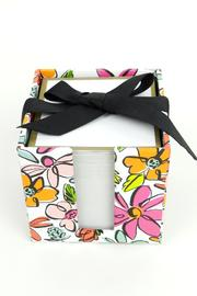 Slant Collections Floral Note Cube - Product Mini Image