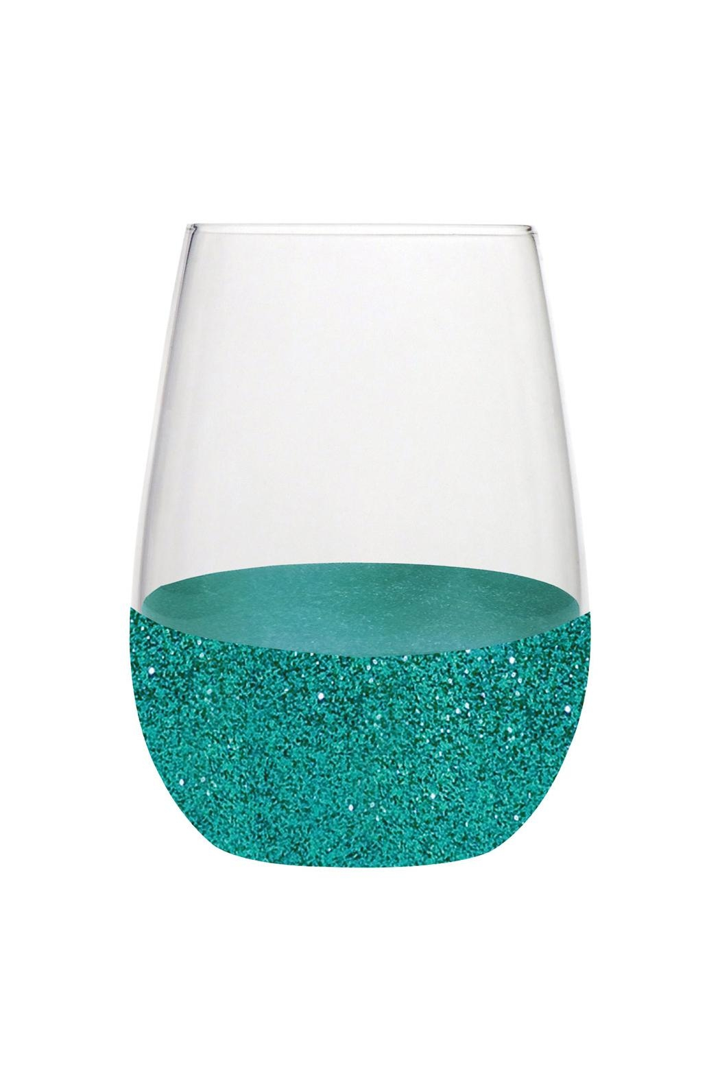 Slant Collections Glitter Stemless Glass - Main Image