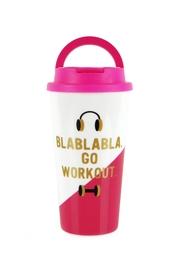Slant Collections Go-Work-Out Travel Tumbler - Product Mini Image