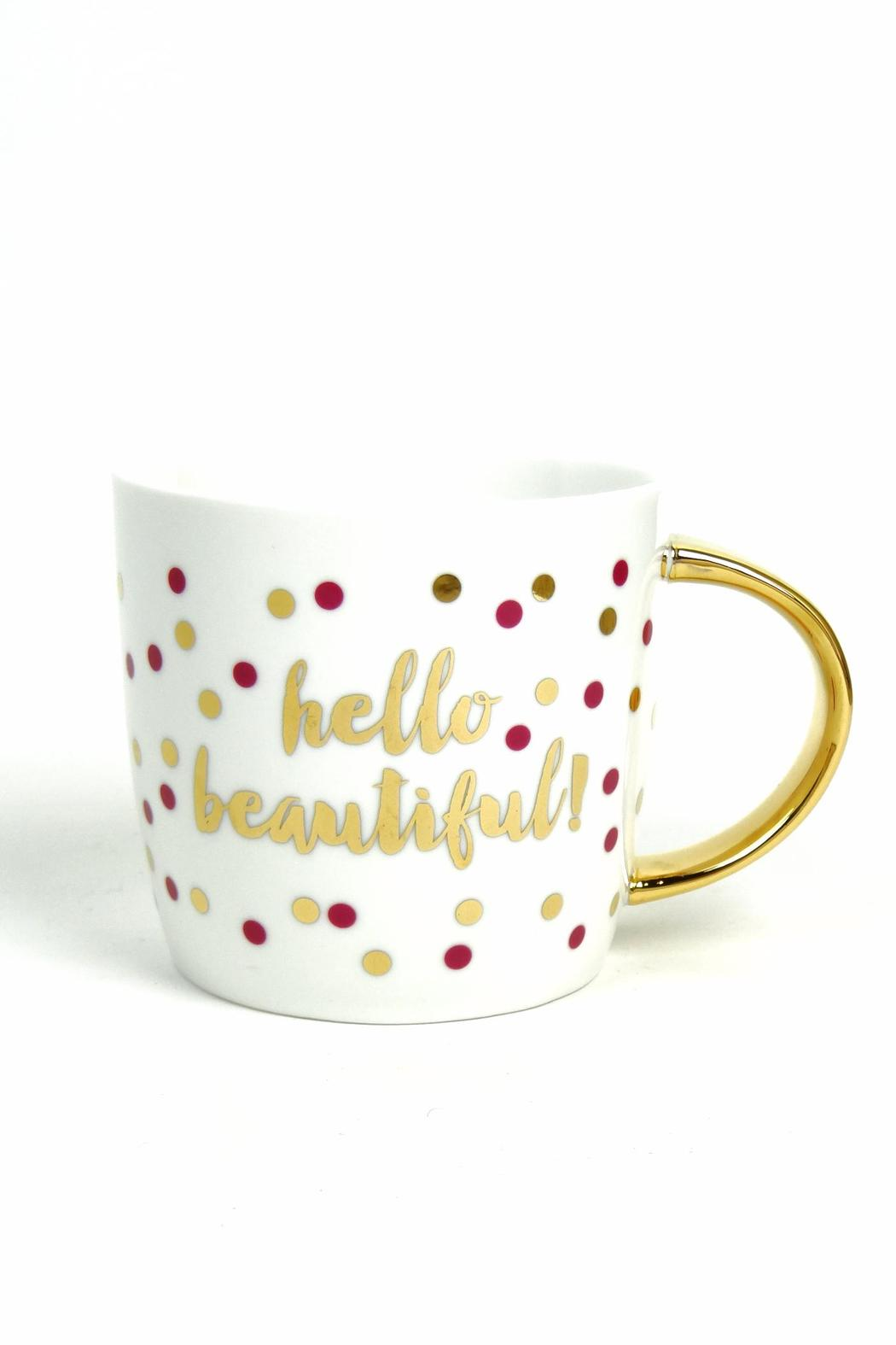 Slant Collections Hello Beautiful Mug From Michigan By Let