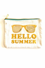 Slant Collections Hello Cosmetic Bag - Product Mini Image