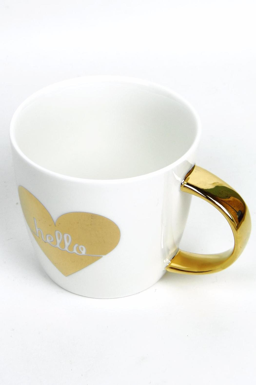 Slant Collections Hello Heart Mug - Side Cropped Image