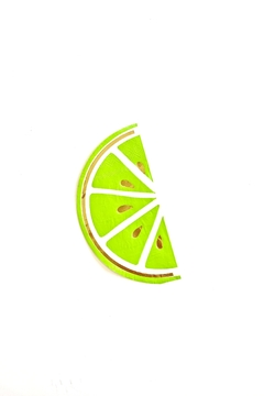 Slant Collections Lime Beverage Napkins - Product List Image