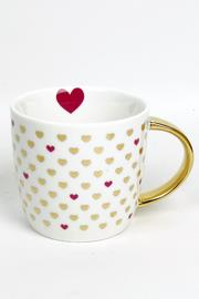 Slant Collections Mini Hearts Mug - Front cropped