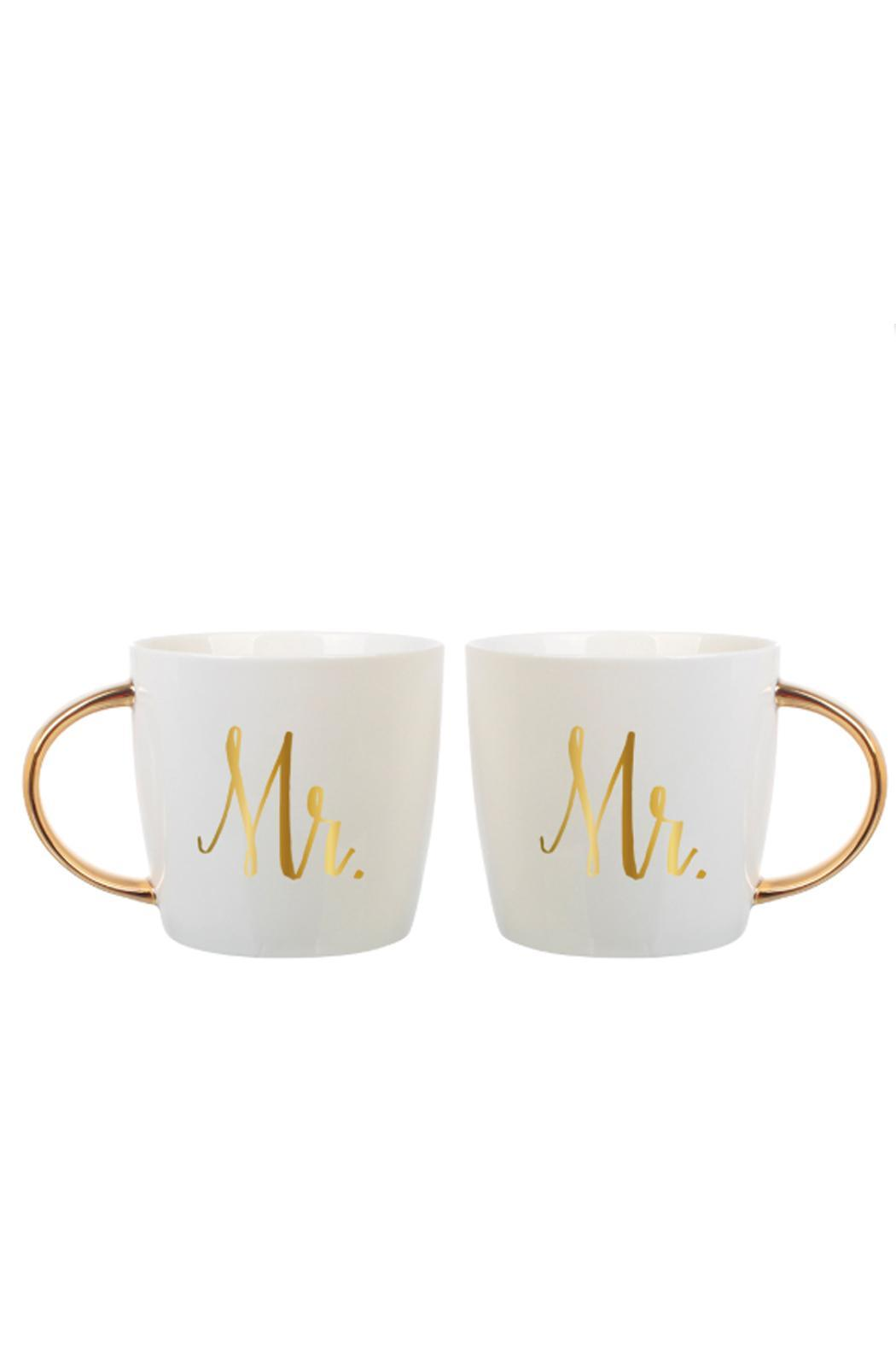 Slant Collections Mr. & Mr. Mugs - Main Image