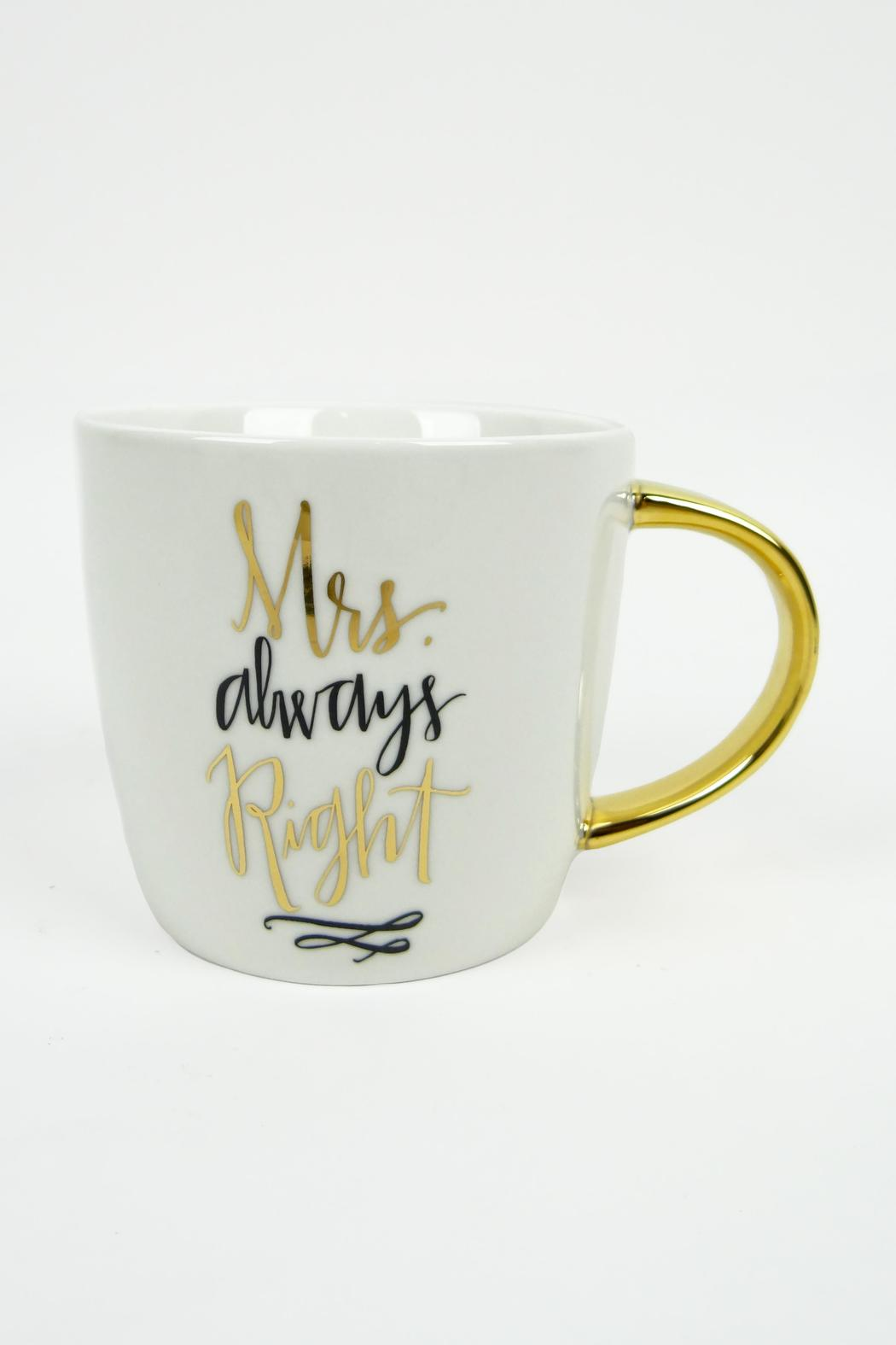 Slant Collections Mr./Mrs. Right Mugs - Back Cropped Image