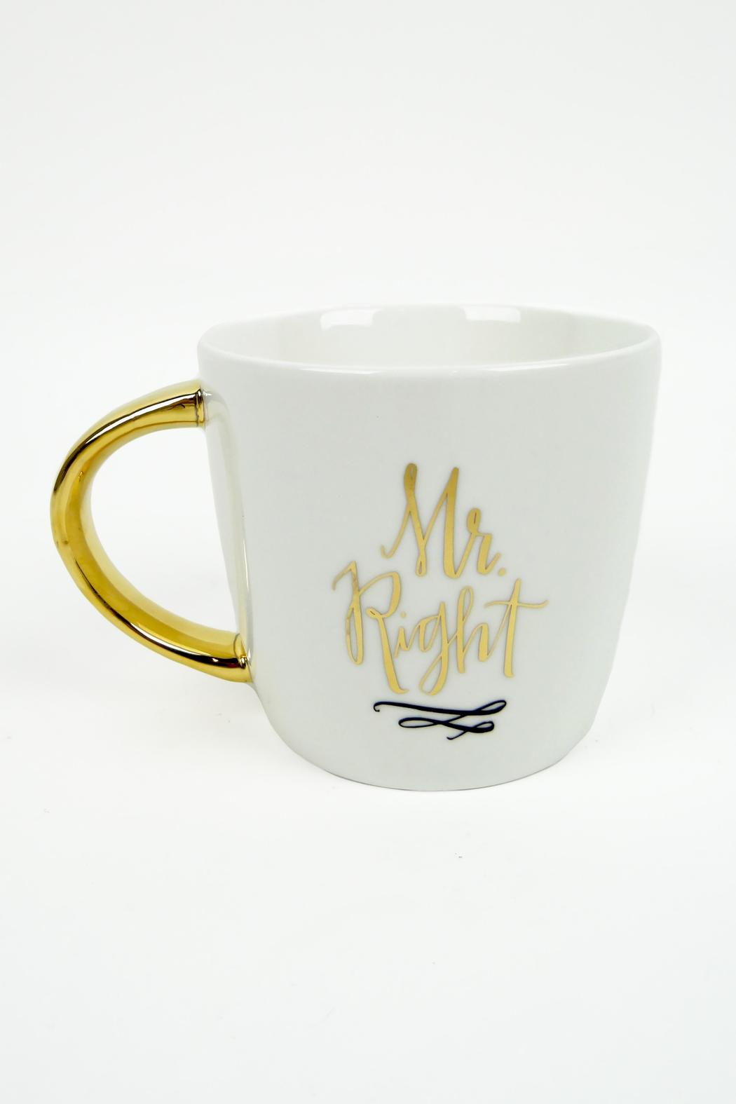Slant Collections Mr./Mrs. Right Mugs - Front Full Image