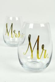 Slant Collections Wine Glass Set of 2 - Product Mini Image