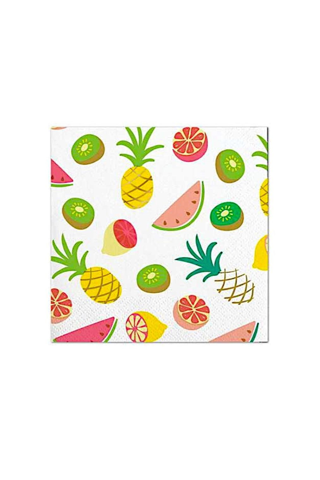 Slant Collections Tropical Cocktail Napkins - Front Cropped Image