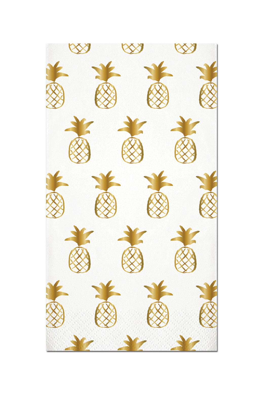 Slant Collections Pineapple Guest Towels - Main Image