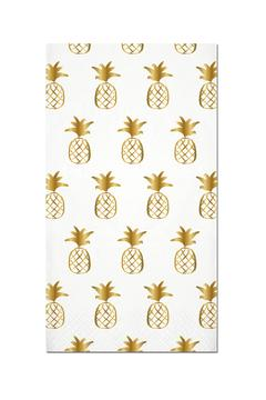 Slant Collections Pineapple Guest Towels - Alternate List Image