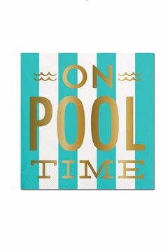 Slant Collections Pool Time Napkins - Product List Image