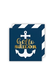 Slant Collections Sailor Cocktail Napkins - Product Mini Image