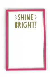 Slant Collections Shine Bright Notepad - Product Mini Image