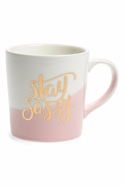 Slant Collections Stay Sassy Mug - Front cropped
