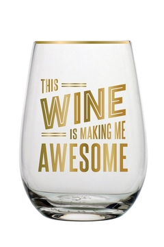 Shoptiques Product: Stemless Wine Glass