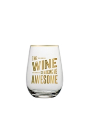 Slant Collections Stemless Wine Glass - Product Mini Image