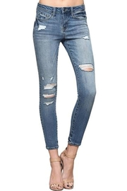 Vervet Slashed Skinny Jean - Product Mini Image