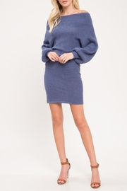 Latiste Slate Blue Dress - Product Mini Image