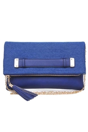 Urban Expressions Slate Clutch - Front cropped