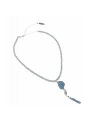 Slate Gray Gallery Cloudy Quartz Necklace - Product Mini Image