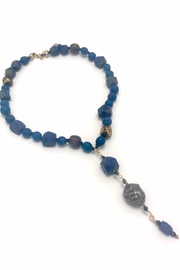 Slate Gray Gallery Lapiz Lazuli Necklace - Product Mini Image