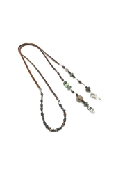 Slate Gray Gallery Leather Lariat Ii - Product Mini Image