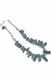 Slate Gray Gallery Raw Kyanite Necklace - Product Mini Image