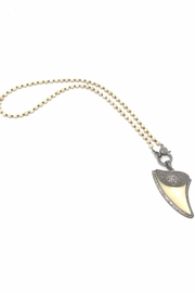 Slate Gray Gallery Shark Tooth Necklace - Product Mini Image