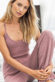 z supply Slay All Day Rib Crop Cami - Front cropped