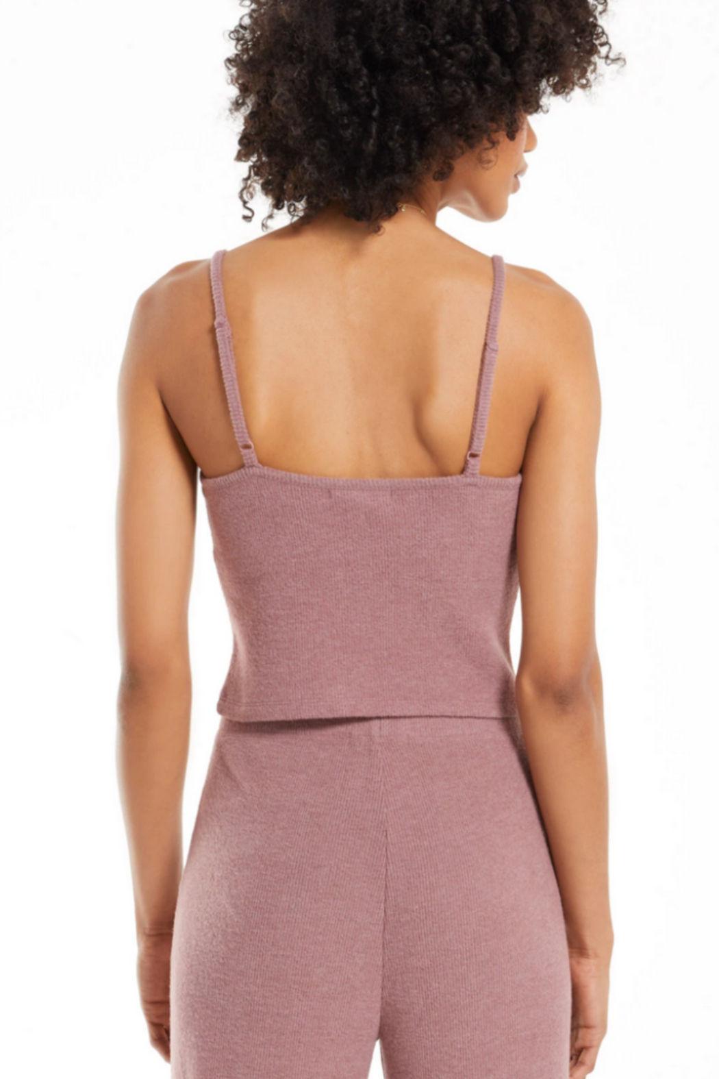 z supply Slay All Day Rib Crop Cami - Side Cropped Image