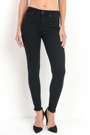 Just Black Denim Sleek & Frayed - Product Mini Image