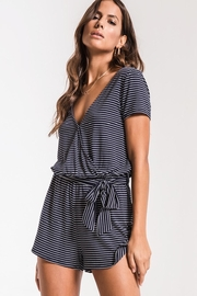 Zsupply Sleek Jersey Romper - Back cropped