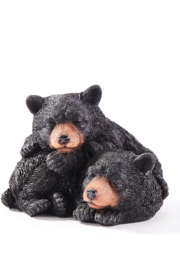 Giftcraft Inc.  Sleeping Bear Figurine - Front cropped