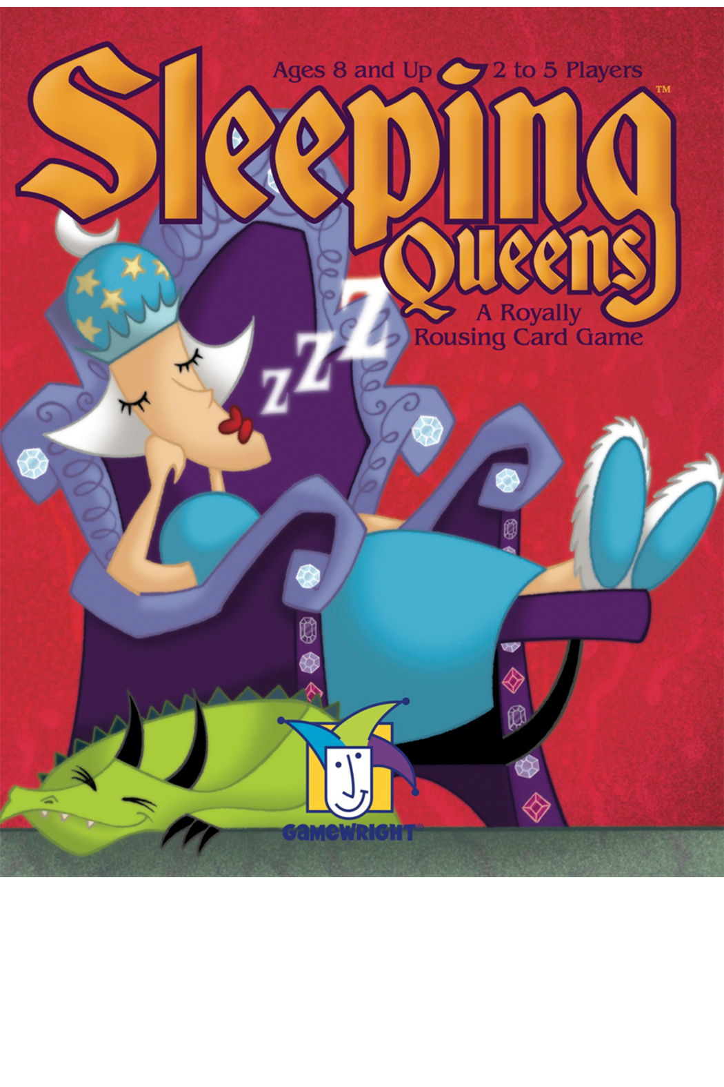 Gamewright Sleeping Queens - Front Full Image