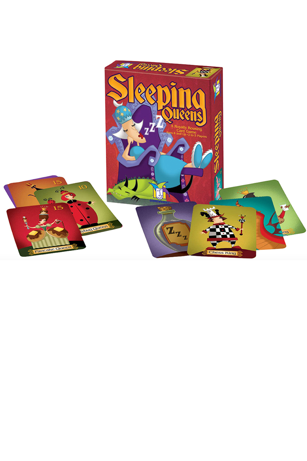 Gamewright Sleeping Queens - Main Image