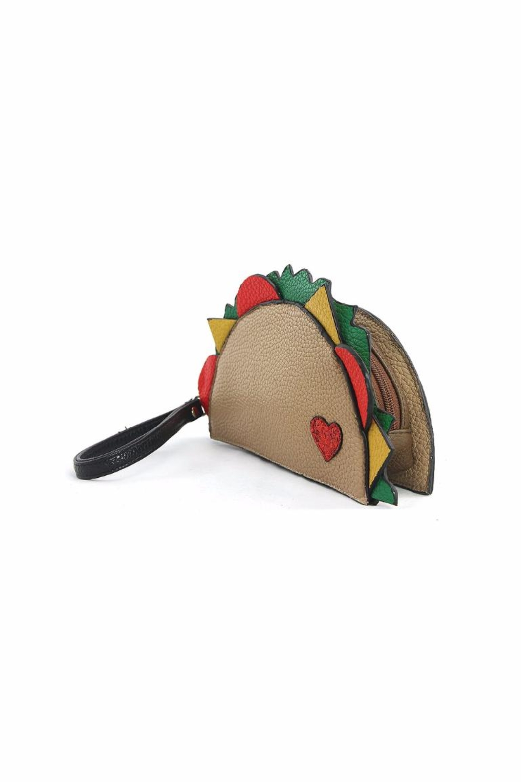 Sleepyville Critters Taco Wristlet - Front Full Image